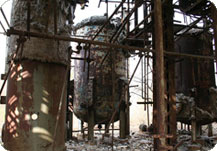 Bhopal plant fire