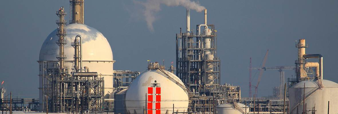 Dow Chemical Plant