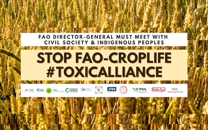 Croplife and FAO