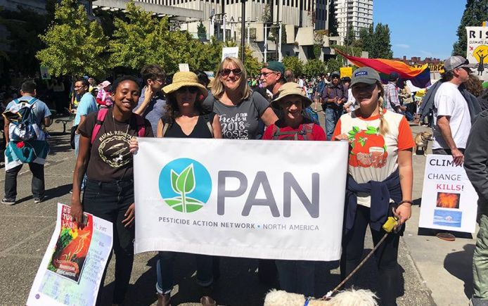 PAn staff marching