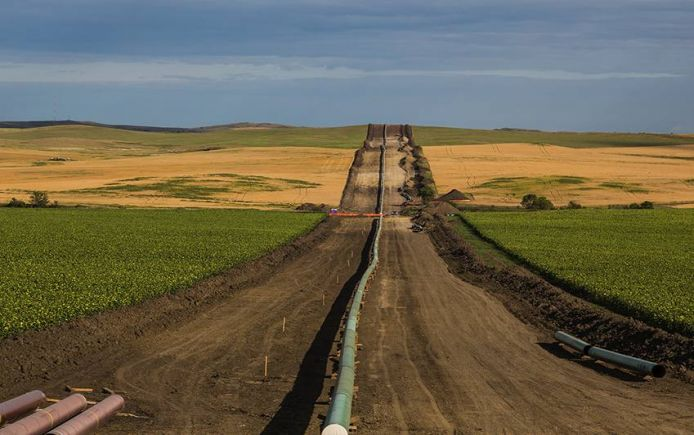 Oil pipeline Dakota