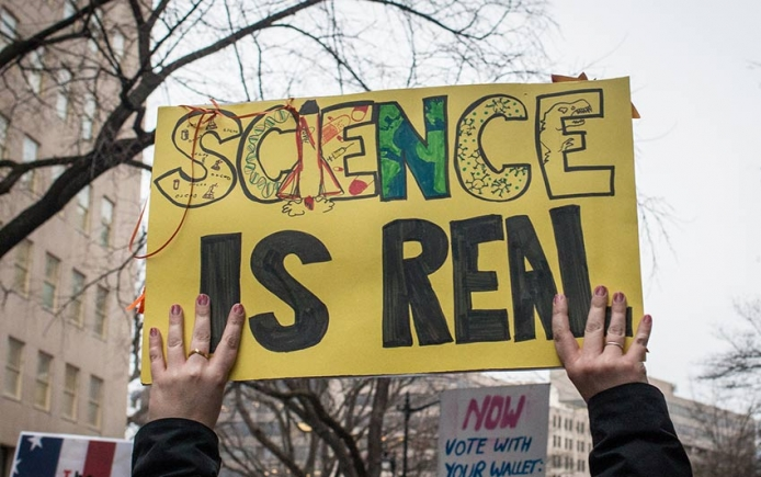 Science protest Trump