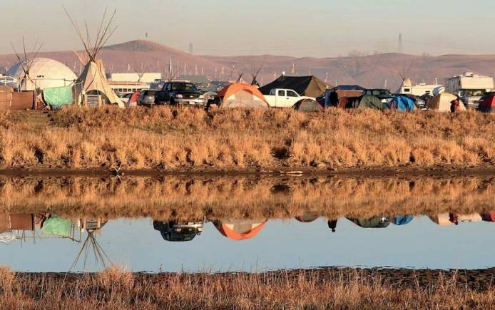 Camp at Standing Rock