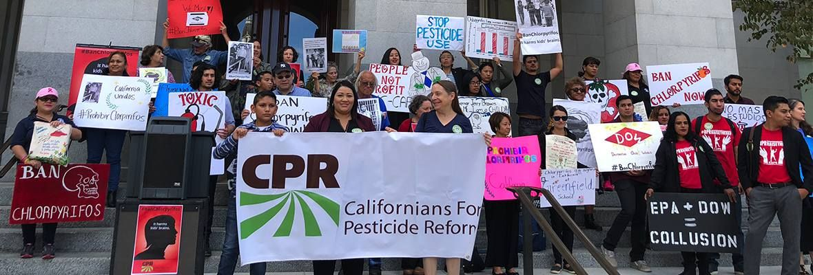 CPR protest chlorpyrifos