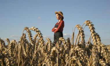 woman farmer in field