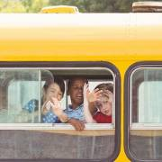 Kids school bus