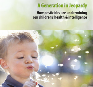 Generation in Jeopary report children and pesticides