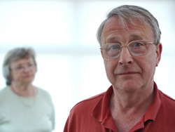 Senior couple