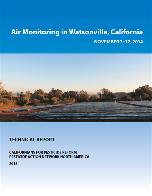 Air Monitoring Watsonville